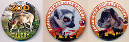 Button ZOO Chelby, Czech Rep. - Goat - Badges