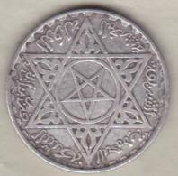 MAROC , 200 Francs 1953 (AH 1372) .MOHAMMED V, En Argent - Maroc