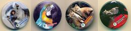 Button ZOO Rovno - Ukraine - Leopard - Badges