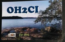 Qsl Card Finnland - Kustavi Island Aus Dem Jahr 2008 - Radio Amateur