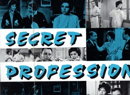 Dossier De Presse Cinéma. Secret Professionnel, Film De Raoul André. Dawn Addams, Raymond Pellegrin. - Cinema Advertisement