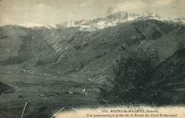 BOURG St MAURICE  Vue Panoramique Prise De La Route Du Petit St Bernard RV - Bourg Saint Maurice