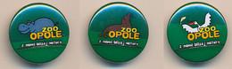 Button ZOO Opole, Poland - Pelican - Badges