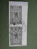 Timbres De DIMENSION Imprimés GRAND DUCHE De LUXEMBOURG Sur Fragment - Postage Due