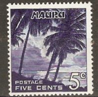 Niue  1966 SG 70   5c  Unmounted Mint - Niue