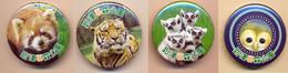 Button Itozu ZOO Park, Japan - Owl - Badges