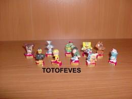 SERIE COMPLETE UN HERO = GAGE DE 10 FEVES N°373 - Other