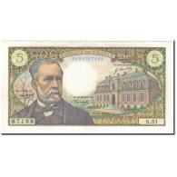 France, 5 Francs, 5 F 1966-1970 ''Pasteur'', 1967-05-05, SUP, Fayette:61.5 - 5 F 1966-1970 ''Pasteur''