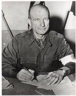 88Sv   Grande Photo (23cm X 18cm) Du Géneral Alexander M. Patch Commander Of The US Seventh Army - Guerra 1939-45