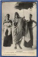 CPA Dahomey Afrique Noire Ethnic Type Roi King Exil En Martinique Non Circulé BEHANZIN - Dahomey