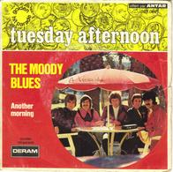 """THE MOODY BLUES """"FOREVER AFTERNOON - ANOTHER MORNING"""" DISQUE VINYL 45 TOURS - Other - English Music"""