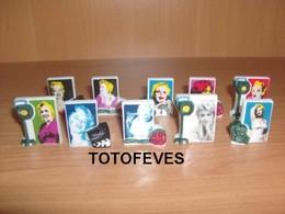 SERIE COMPLETE MARILYN POP ART DE 10 FEVES N°392 - Other