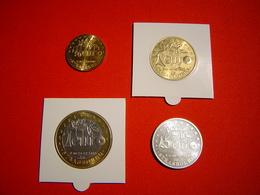 LOT 4 PIECES  EURO TEMPORAIRE VILLE DE STRASBOURG / NAFSEP - Euros Of The Cities