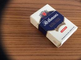 "Boîte D'allumettes ** SEITA Format Paquet Cigarettes Mini ""Rothmans"" - Boites D'allumettes"