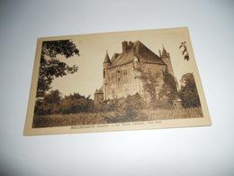 45 LOIRET CARTE ANCIENNE EN N/BL BELLEGARDE LE VIEUX DONJON COTE SUD EDIT COUROUX - France