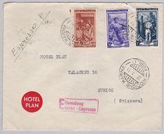 Brief In Die Schweiz (br5049) - 6. 1946-.. Republic