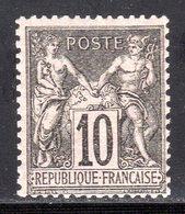 N° 103 (Sage) Neuf** LUXE: COTE= 67,50 € - 1898-1900 Sage (Type III)