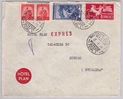 Brief In Die Schweiz (br5059) - 6. 1946-.. Republic