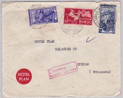 Brief In Die Schweiz (br5060) - 6. 1946-.. Republic