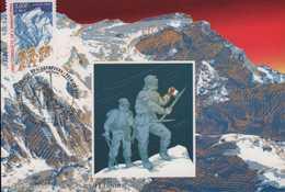 N° 3331 Cinquantenaire De L'Annapurna - Maximumkarten