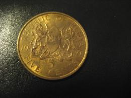 5 Five Cents 1971 KENYA Coin - Kenya
