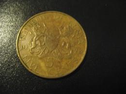 5 Five Cents 1978 KENYA Coin - Kenya