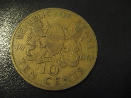 10 Ten Cents 1966 KENYA Coin - Kenya