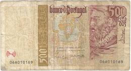 Portugal 500 Escudos 17-4-1997 Pick 187a.1 Ref 1921 - Portugal