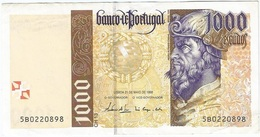 Portugal 1.000 Escudos 21-5-1998 Pick 188c.2 Ref 1923 - Portugal