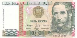 Peru - 1000 1.000 Intis 28 June 1988 - UNC - Pérou