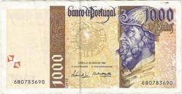 Portugal 1.000 Escudos 21-5-1998 Pick 188c.7 Ref 1922 - Portugal