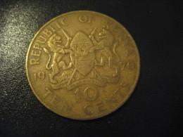 10 Ten Cents 1970 KENYA Coin - Kenya