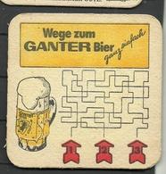 Bierdeckel Deutschland Ganter - Sous-bocks