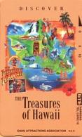 Hawaii - GTH-31, Discover The Treasures Of Hawaii, 10U, 5.000ex, Mint - Hawaii