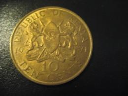 10 Ten Cents 1971 KENYA Coin Nice Condition - Kenya