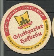 Bierdeckel Deutschland Stuttgarter Hofbräu - Bierdeckel