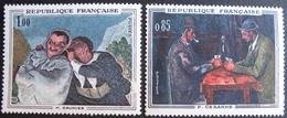 1841 - TABLEAUX : DAUMIER / CEZANNE - N°1321 + 1494 - TIMBRES NEUFS** - France