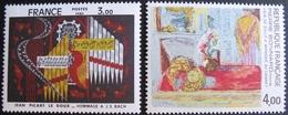 1842 - TABLEAUX : LE DOUX / BONNARD - N°2107 + 2301 - TIMBRES NEUFS** - France