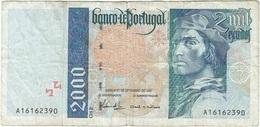 Portugal 2.000 Escudos 21-9-1995 Pick 189a.3 Ref 1926 - Portugal