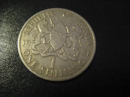 1 One Shilling 1971 KENYA Coin - Kenya