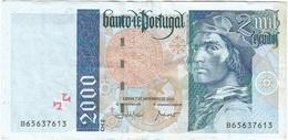 Portugal 2.000 Escudos 7-11-2000 Pick 189d.2 Ref 1925 - Portugal