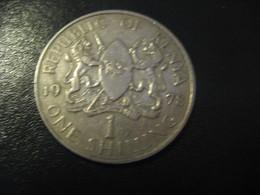 1 One Shilling 1978 KENYA Coin - Kenya
