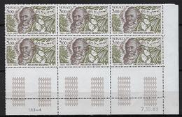 "Monaco Coins Datés YT 1389 "" Johannes Brahms "" Neuf** Du 7.10.83 - Mónaco"
