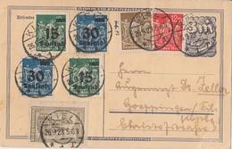 DR GS Zfr. Minr.240,242,262,2x 279,2x 284 Kiel 26.9.23 - Deutschland