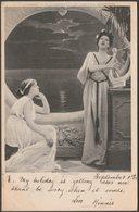 Reverie, 1903 - Hildesheimer U/B Postcard - Couples