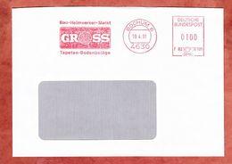 Brief, Francotyp-Postalia F82-5195, Gross, 100 Pfg, Bochum 1991 (56740) - [7] West-Duitsland