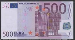 GERMANY X 500 EURO R011  - TRICHET   UNC - 500 Euro