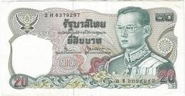 Tailandia - Thailandia 20 Bath 1981 Pick 88.13 Ref 1930 - Tailandia
