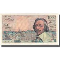France, 1000 Francs, 1 000 F 1953-1957 ''Richelieu'', 1955-03-03, SUP - 1871-1952 Antichi Franchi Circolanti Nel XX Secolo