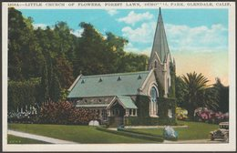 Little Church Of Flowers, Glendale, California, C.1920s - Kashower Postcard - United States